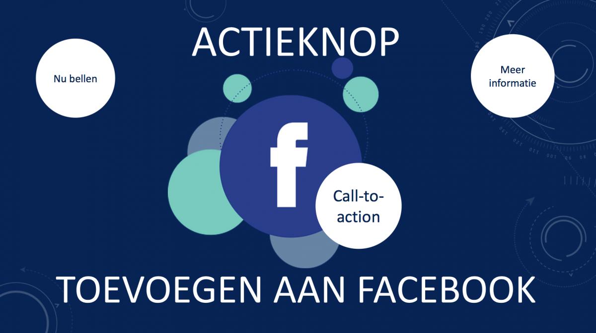 Actieknop toevoegen aan Facebook