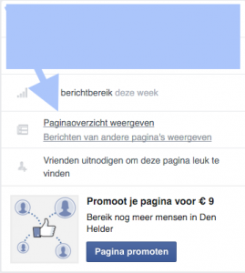 Facebook bedrijfspagina andere pagina liken 5
