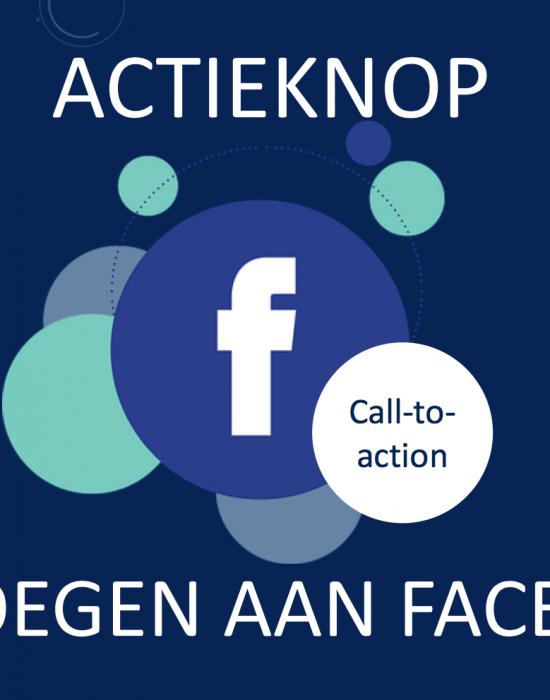 Actieknop toevoegen aan Facebookpagina