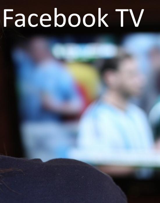 Series kijken via Facebook TV?