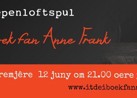 Iepenloftspul It Deiboek fan Anne Frank