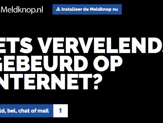 Meldknop.nl – Iets vervelends gebeurd op internet?